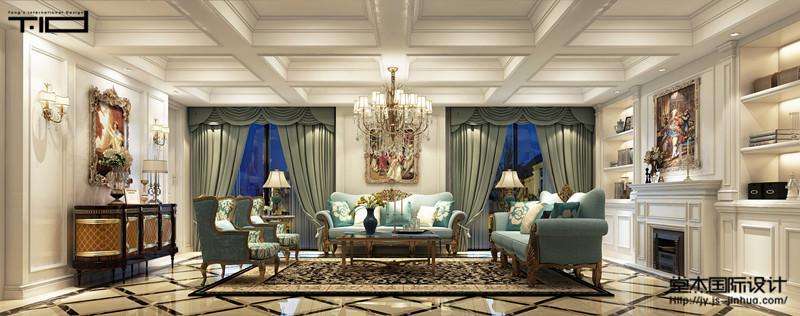 希望豪园360平欧式风格效果图
