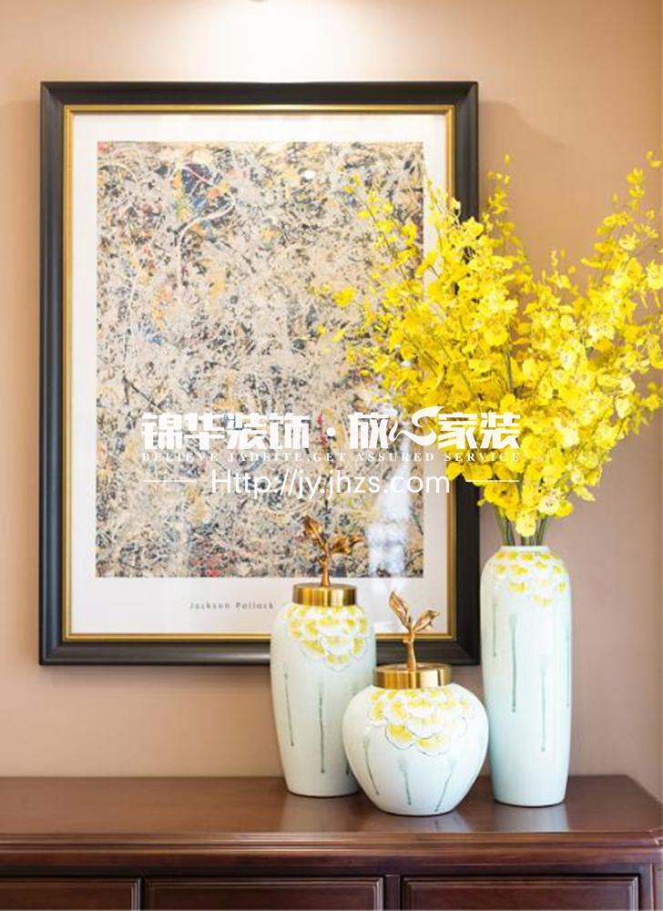江阴院子140平美式风格实景图装修-四室两厅-简美