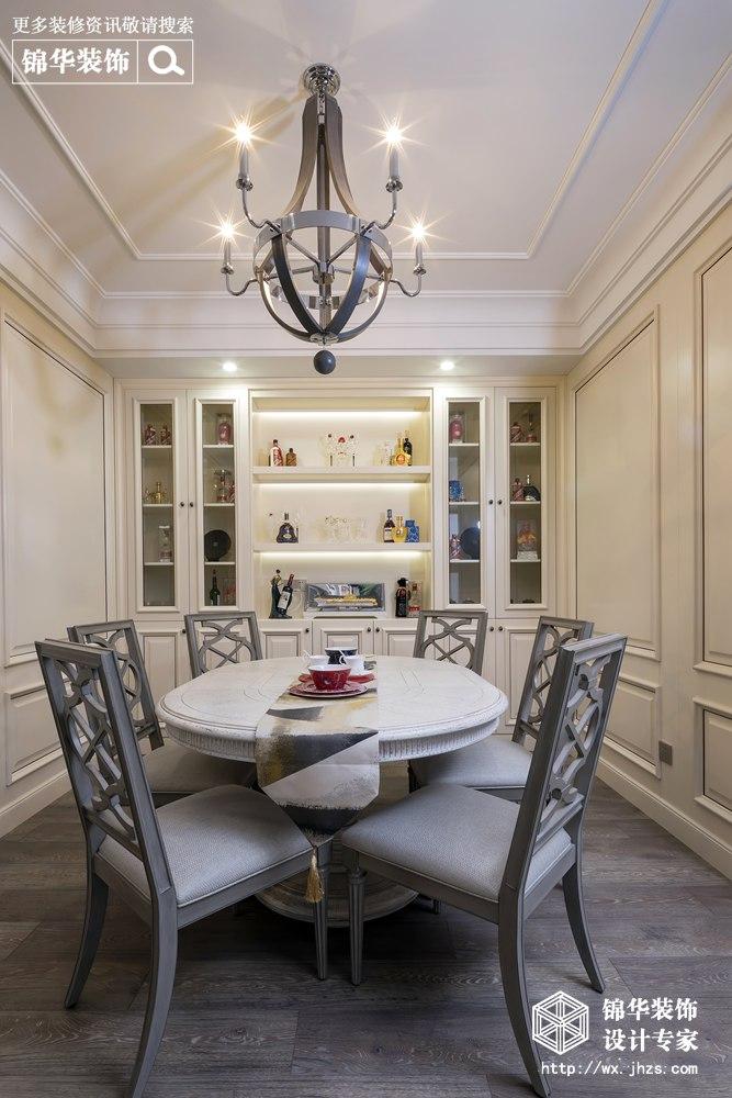 新世纪壹号260平轻奢风格实景图装修-三室两厅-东南亚