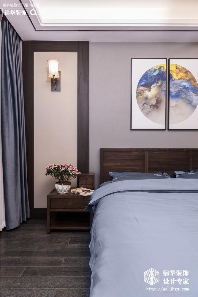 碧桂园187平新中式风格实景图装修-四室两厅-新中式