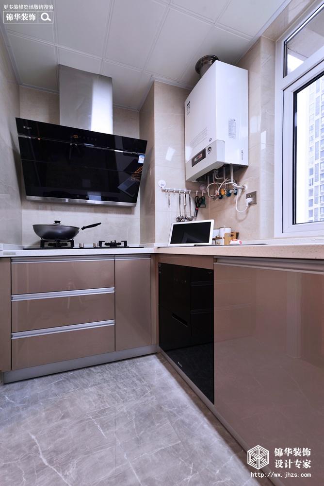 简·馨—117平现代简约风格实景图装修-三室两厅-现代简约