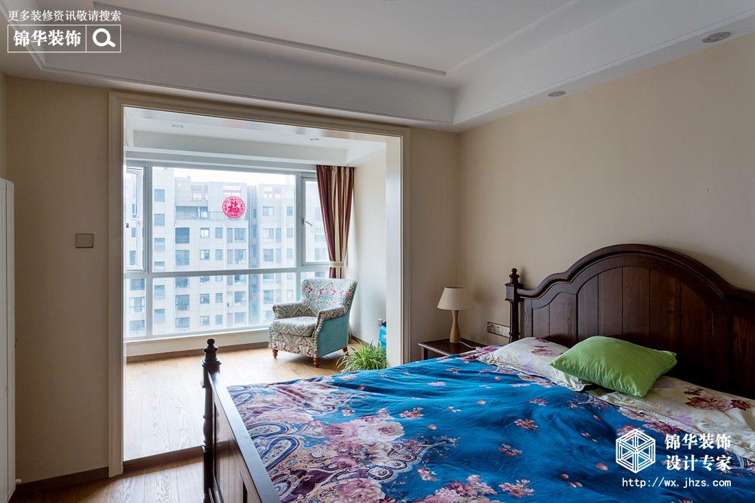 阳光国际153平简美风格实景图装修-三室两厅-简美