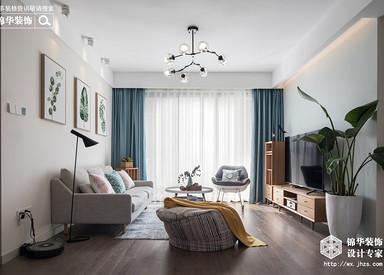 浪漫满屋—94平北欧风格实景图