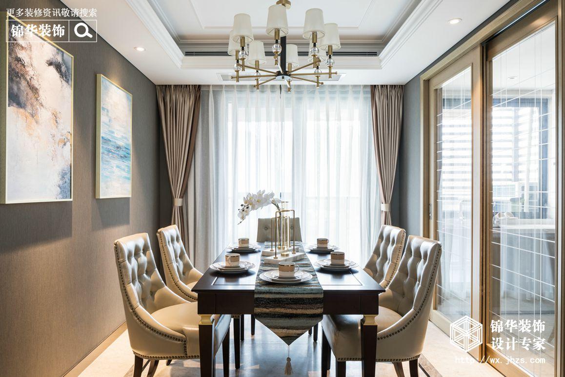 碧桂园140平美式轻奢风格实景图装修-四室两厅-简美