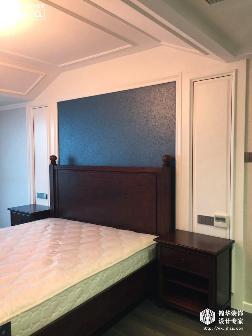 阳光国际176平现代美式风格实景图装修-四室两厅-简美