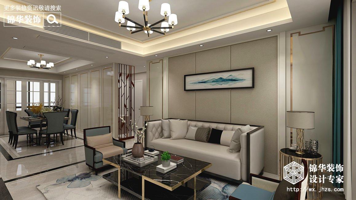 108平四室两厅美式轻奢实景案例