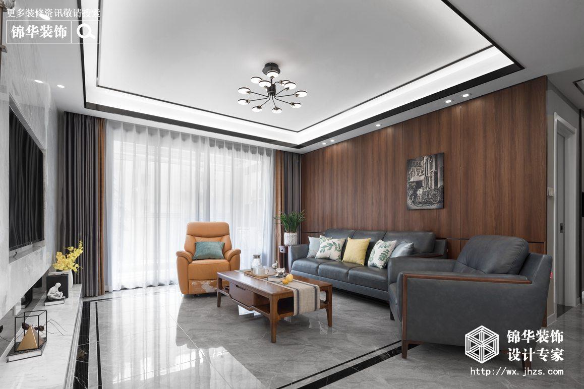 现代简约-四室两厅-136平-装修实景效果图
