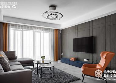 现代简约-华悦氿峰-两室两厅-177平-装修效果实景图