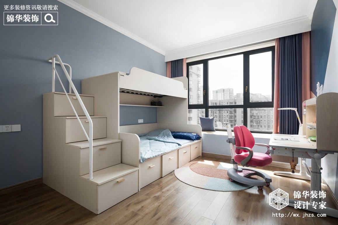 现代简约-华悦氿峰-两室两厅-177平-儿童房 -装修效果实景图