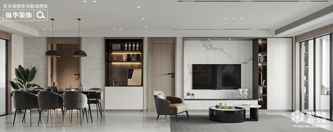 现代简约-创智泓家-四室两厅-142平-餐厅-装修效果图