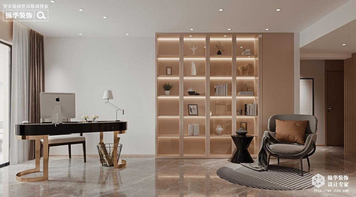 现代简约-杨子华都-四室两厅-230平-书房-装修效果图