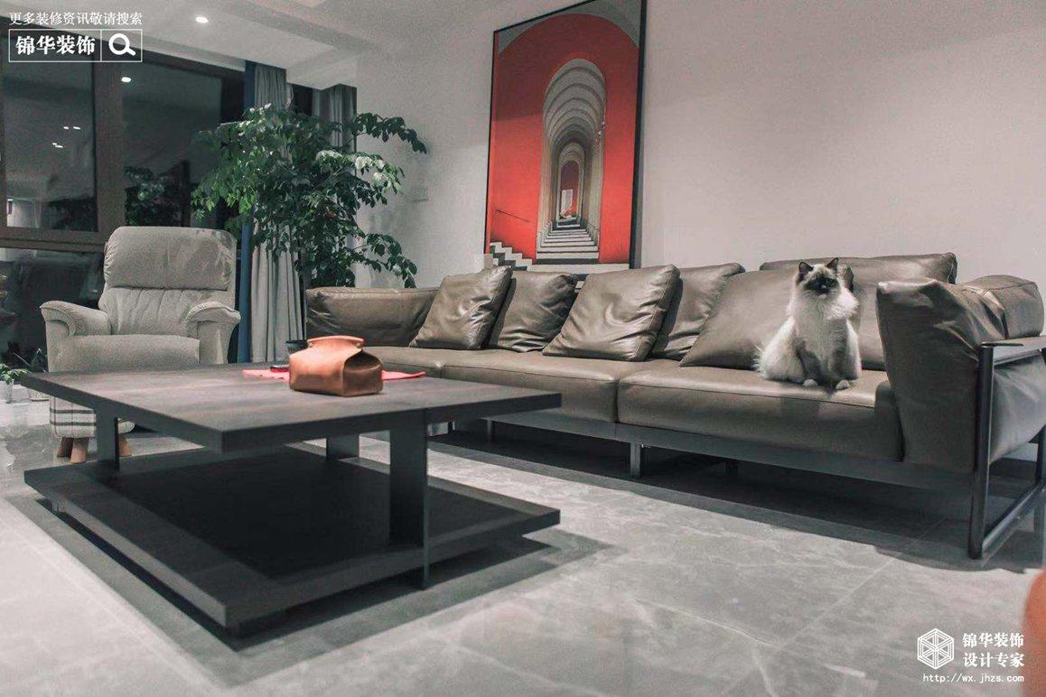 现代简约-扬子华都-四室两厅-178平-装修效果实景图