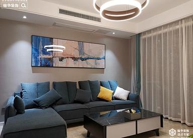 现代简约-绿城玉兰花园-三室两厅-142平-装修效果实景图