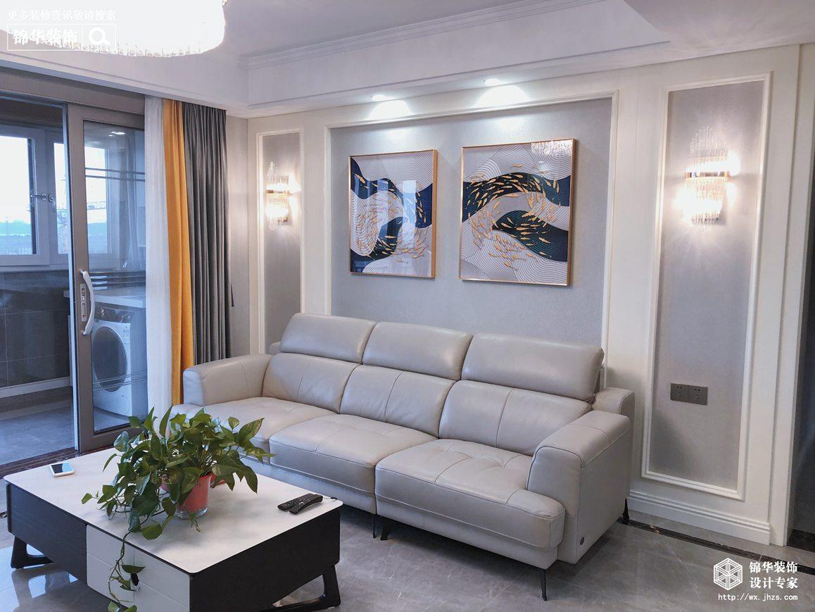 现代轻奢-碧桂园-四室两厅-140㎡-装修效果实景图