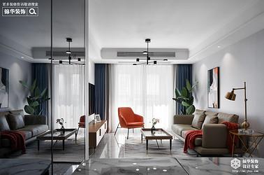 北欧轻奢-三室两厅-105平-装修效果实景图