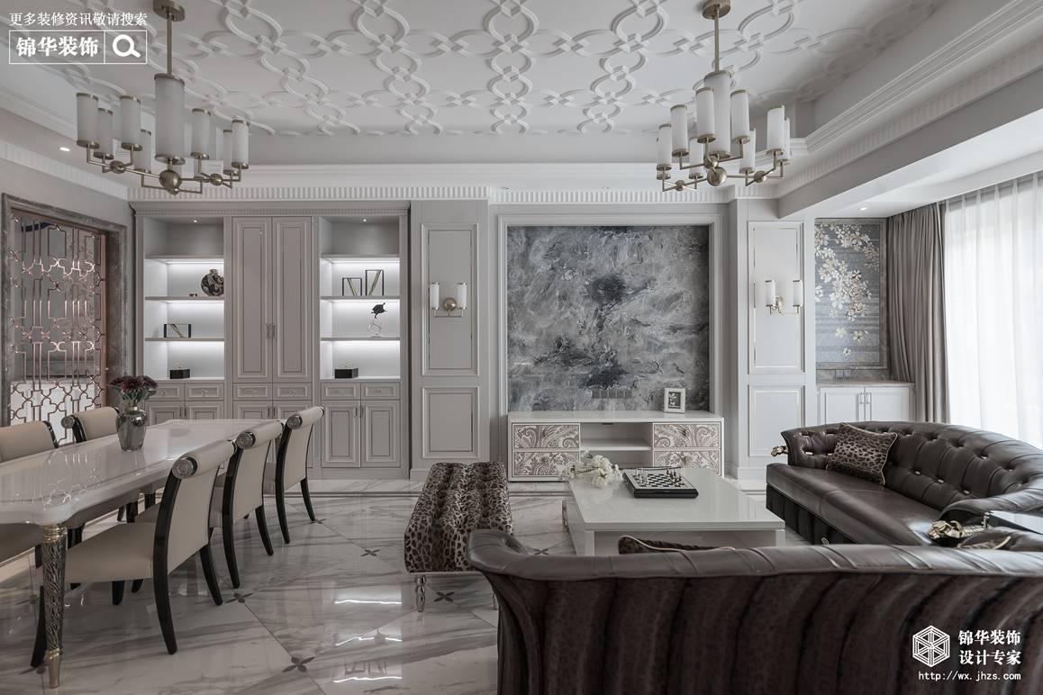 新古典风格-碧桂园-别墅-410平-装修效果实景图