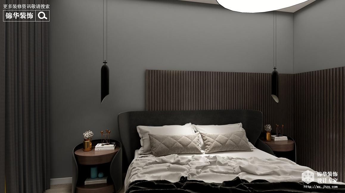 现代极简-绿城玉兰花园-三室两厅-135平-装修效果实景图