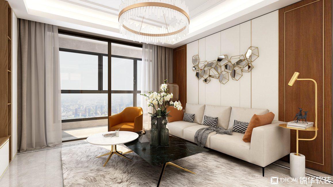 现代轻奢-四室两厅-143平-装修效果图