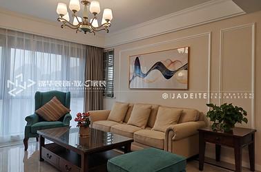 美式风格-绿城玉兰花园-五室两厅-148平-装修实景效果图