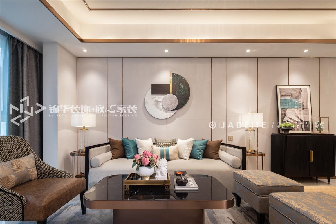 新中式风格-碧桂园三期-四房两厅二卫复式-168平-装修实景效果图