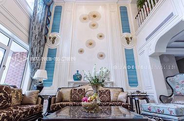 古典风格-龙腾苑-别墅-370平-装修实景效果图