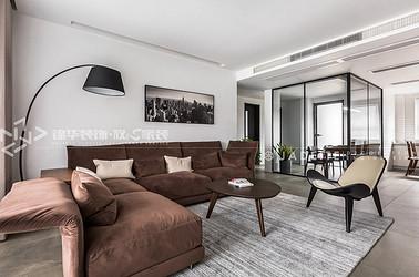 台湾风格-中央华城-四室两厅-145平-装修效果实景图