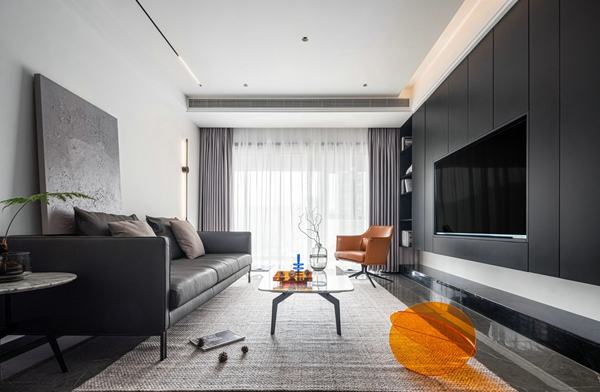 现代风格-天虹苑-三室两厅-120平-装修实景效果图