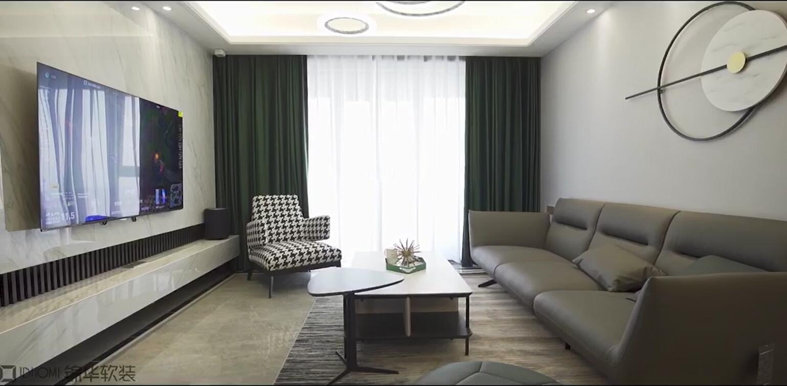 绿地天空树132平现代简约全案整装实景样板间视频