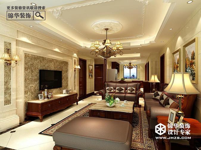 奥体国际花园——欧式装修-三室一厅-欧式古典-溧阳