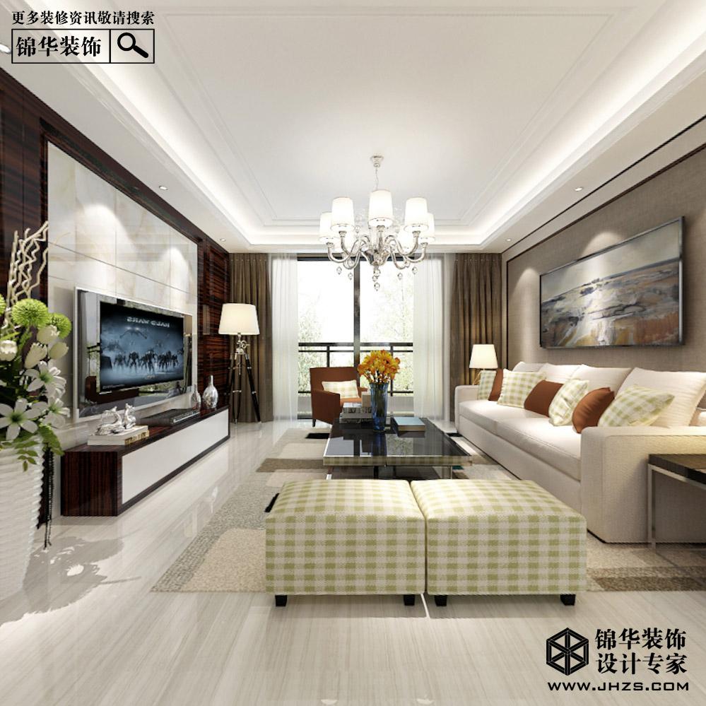溧阳君悦豪庭142平现代装修效果图