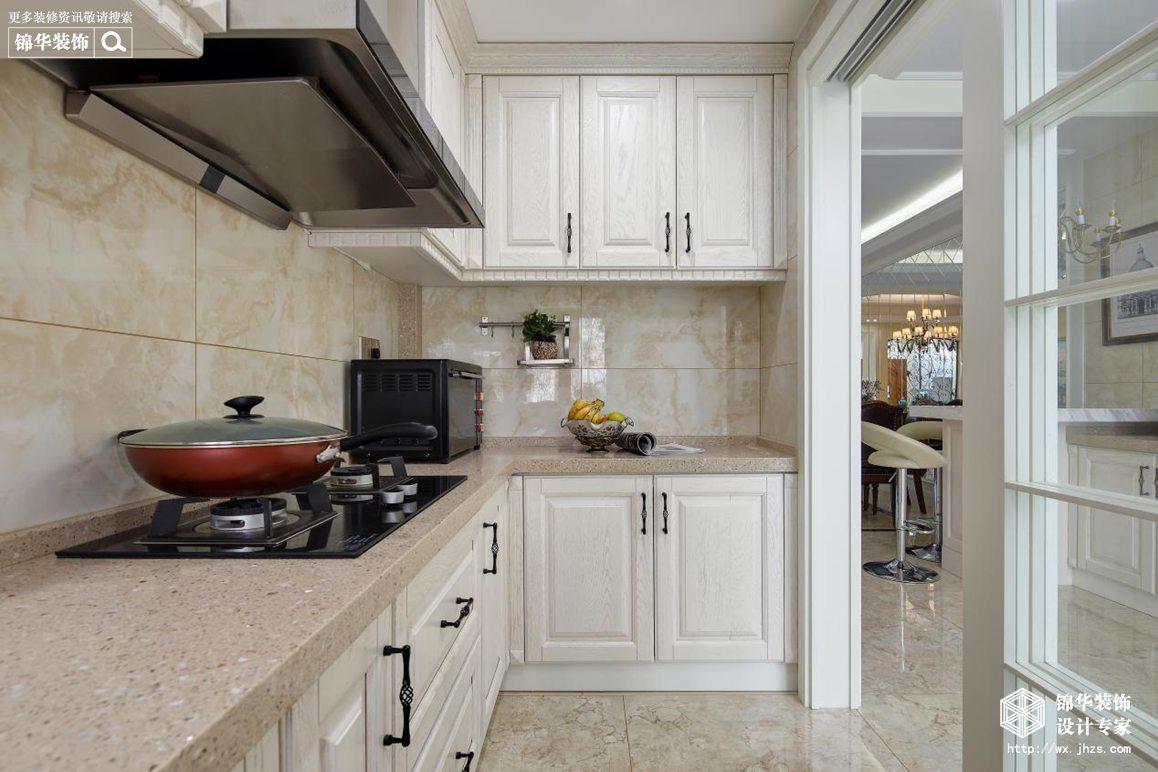 贝尚湾210平美式风格实景图装修-别墅-简美
