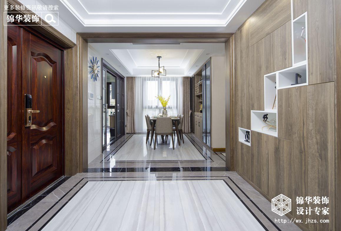 金峰又一城139平现代风格实景图装修-三室两厅-现代简约