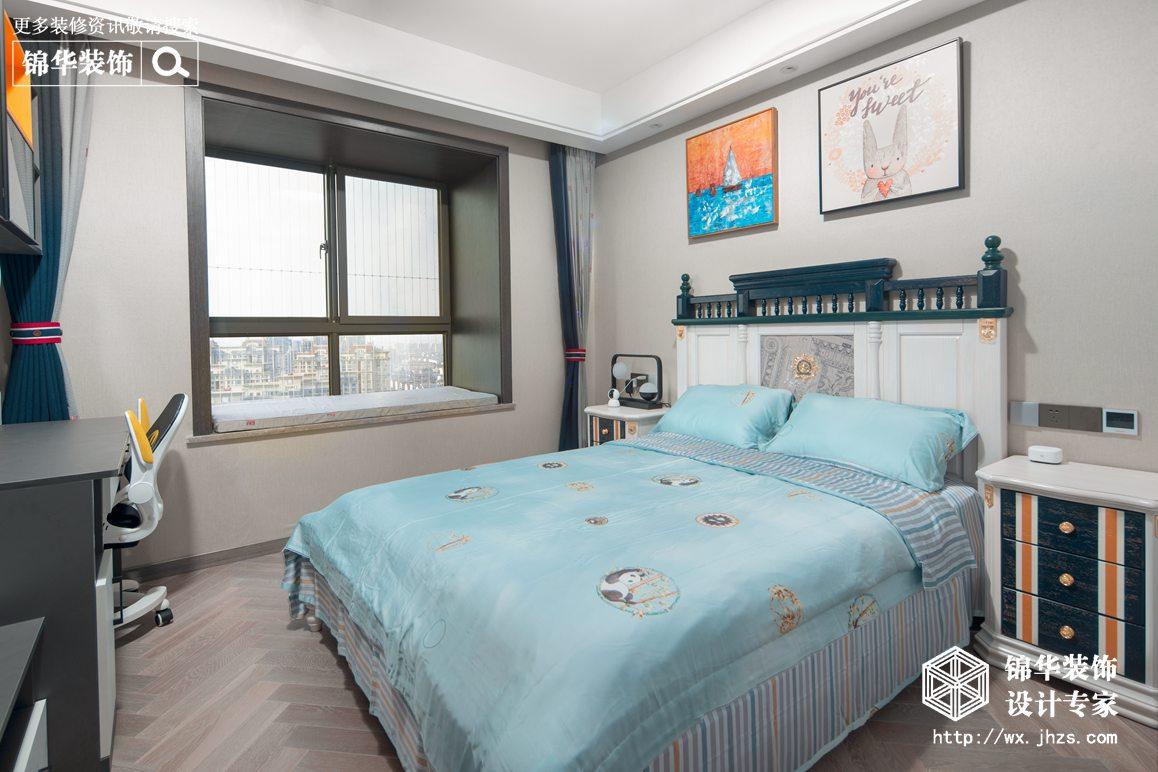 晶海公馆160平现代轻奢风格实景图装修-四室两厅-现代简约