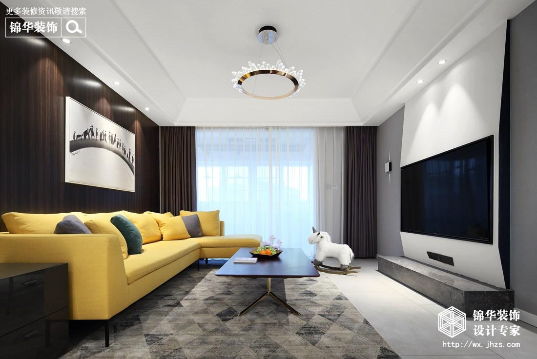 现代时尚风格140平米装修实景图装修-四室两厅-现代简约