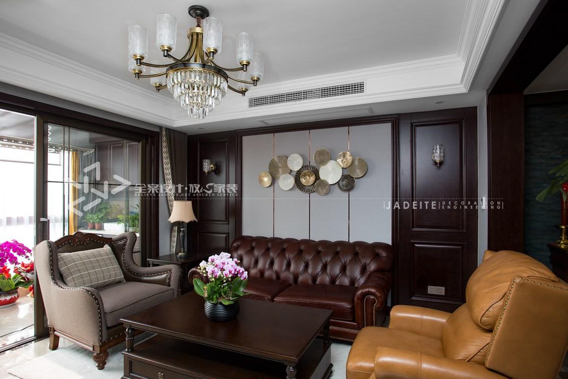 美式轻奢-三室两厅-145平-装修实景效果图