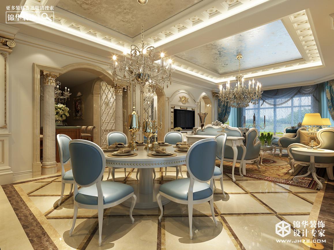 和县碧桂园装修-三室两厅-欧式古典