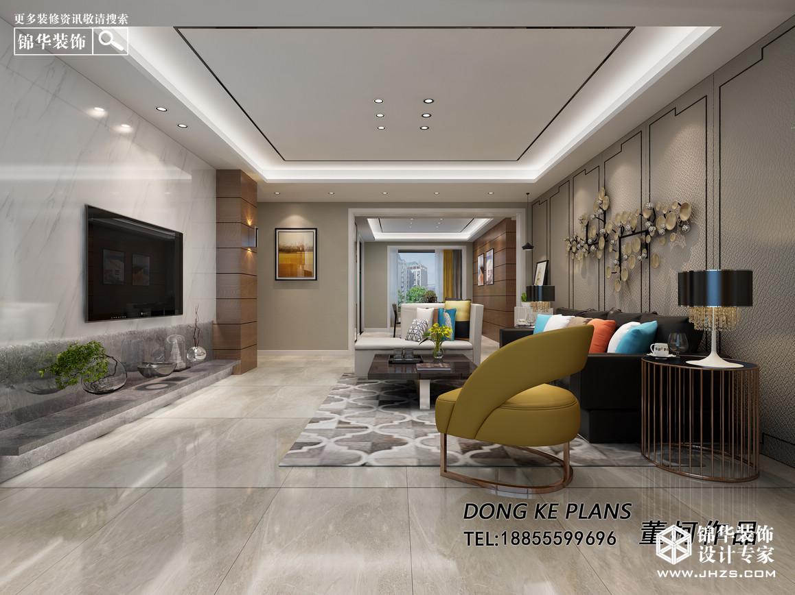 东方明珠装修-三室一厅-现代简约