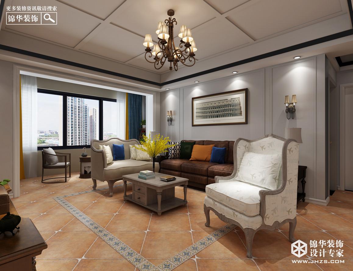简美风-东方城-四室两厅装修-四室两厅-简美