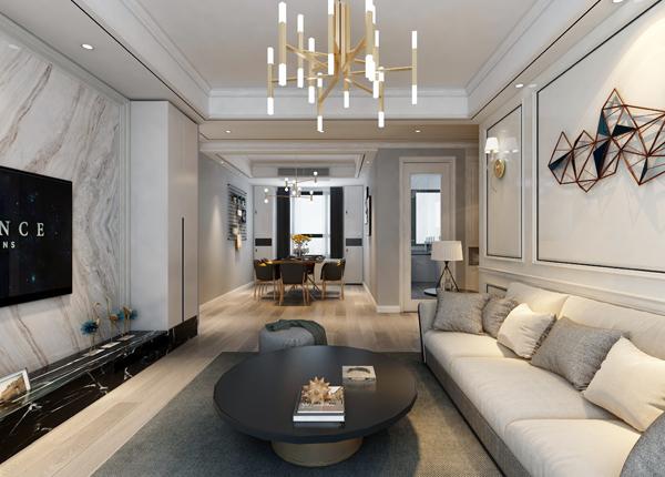 现代简约-和泰国际-三室两厅