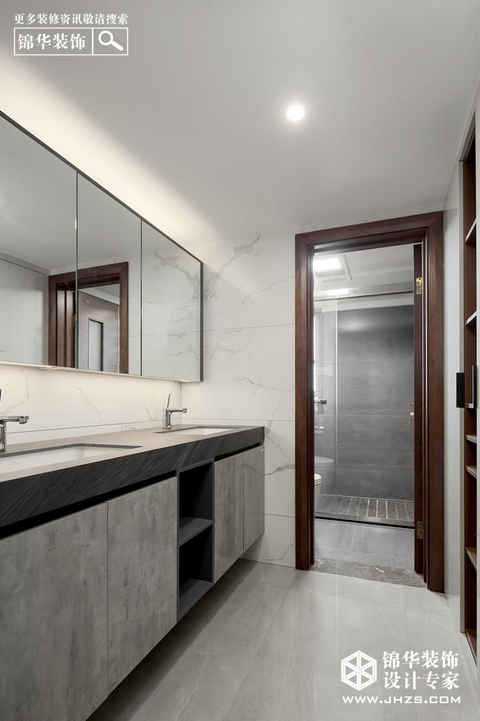新中式-伟星蓝山-三室两厅-140㎡装修-三室两厅-新中式