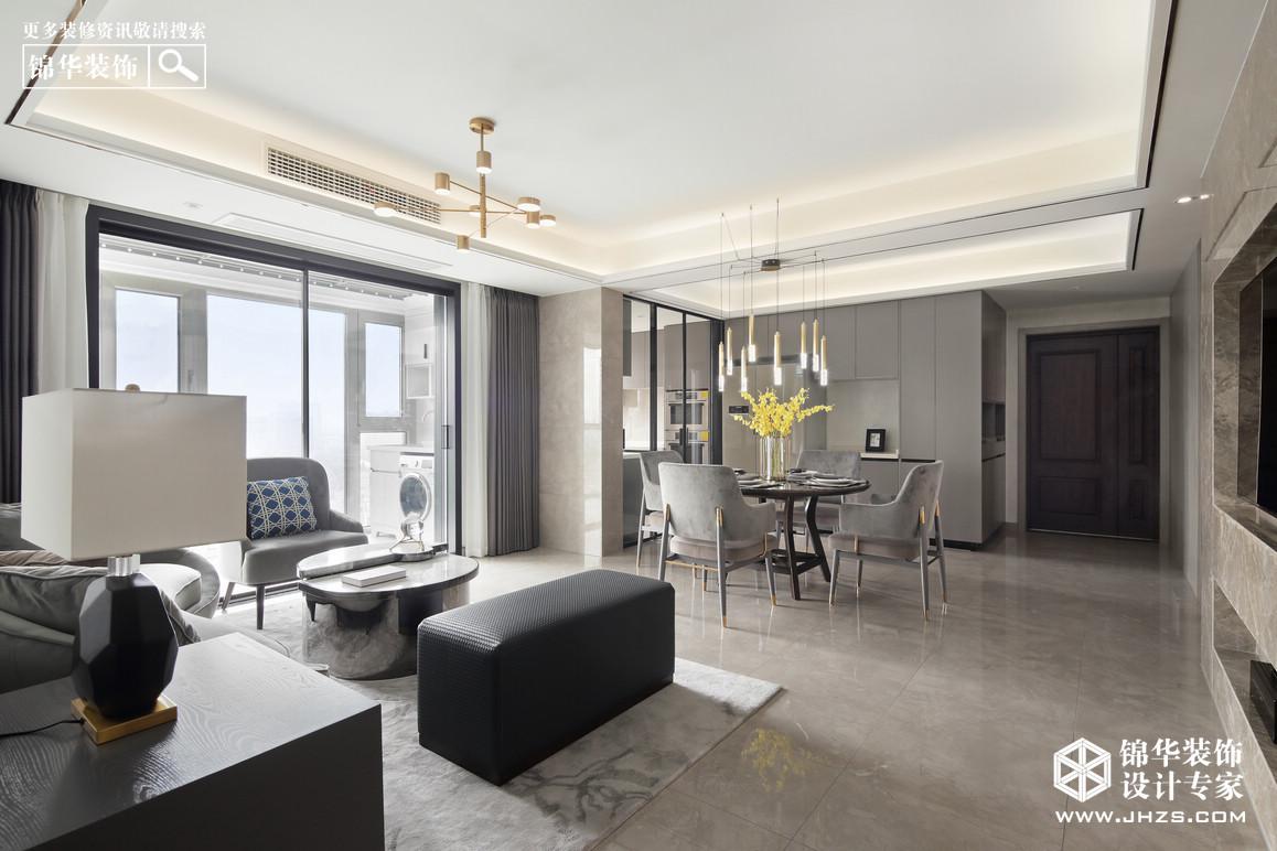 现代轻奢-伟星天境-三室两厅-130㎡装修-三室两厅-轻奢