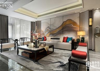 新中式-康泰佳苑-别墅-400平米