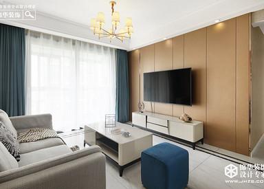 现代简约-伟星珑胤台-两室一厅-89㎡