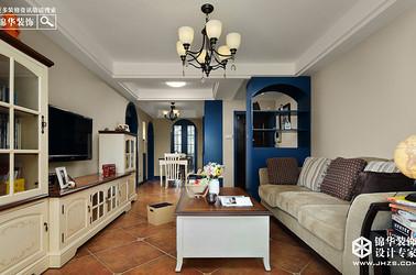地中海-伟星壹号院-两室两厅-89平米