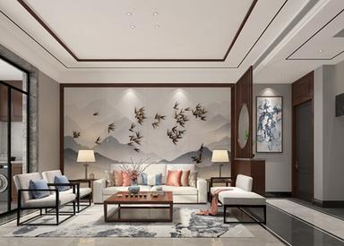 新中式-东湖碧水湾-别墅-180㎡