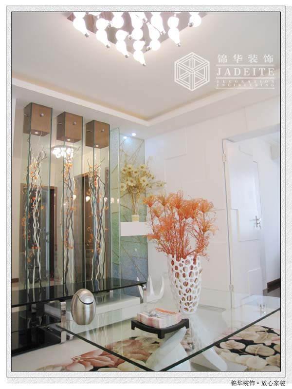 富麗山莊 溫馨婚房裝修 三室兩廳裝修效果圖 現代簡約風格
