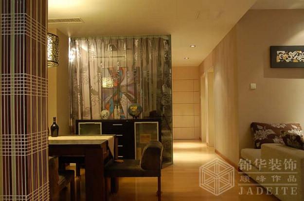 银河湾--低调平静装修-三室两厅-现代简约