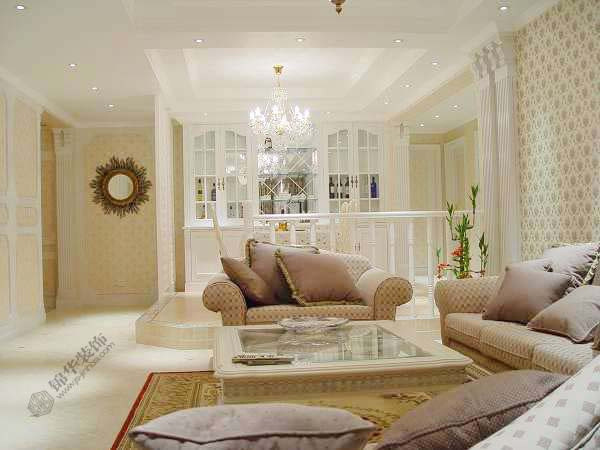 银城东苑揽翠园--温馨装修-三室两厅-美式田园