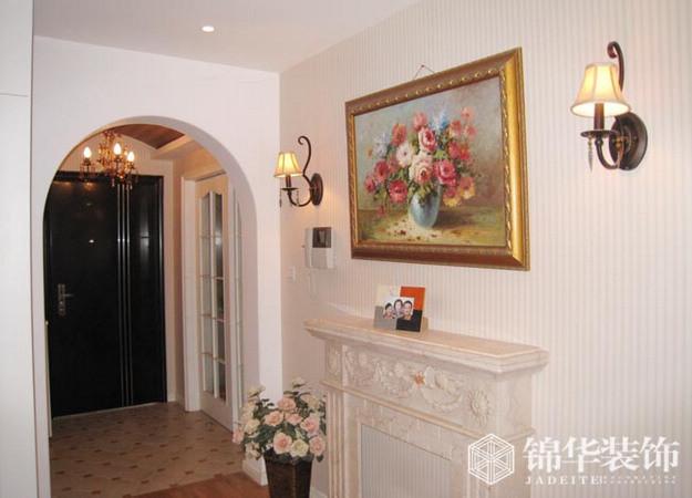 辰龙国际--简欧风装修-三室两厅装修效果图-简欧风格