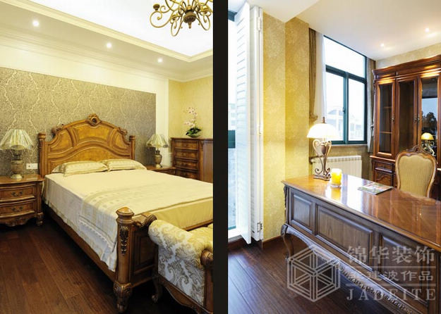 瑞景文华--白色表情装修-别墅-欧式古典